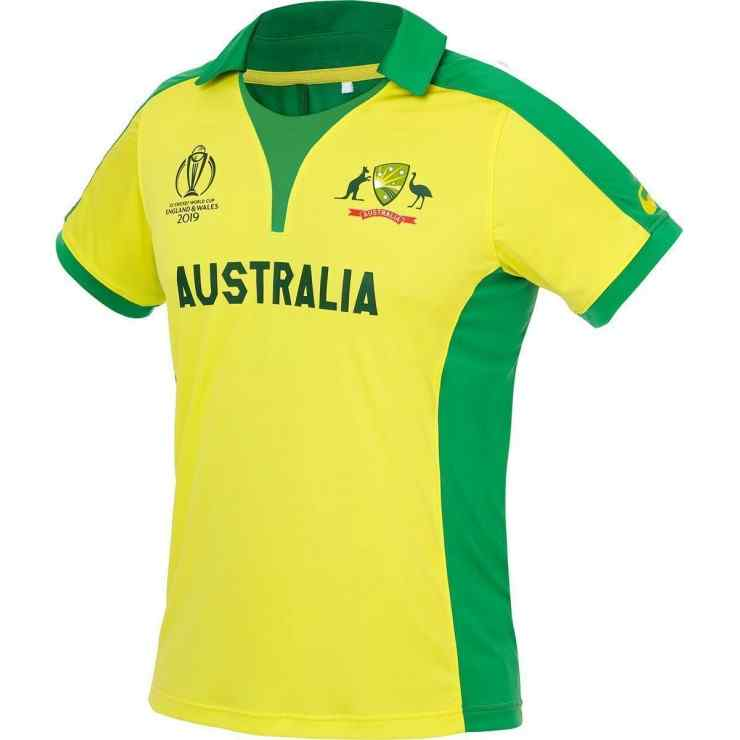 Australia Cricket World Cup 2019 Jersey