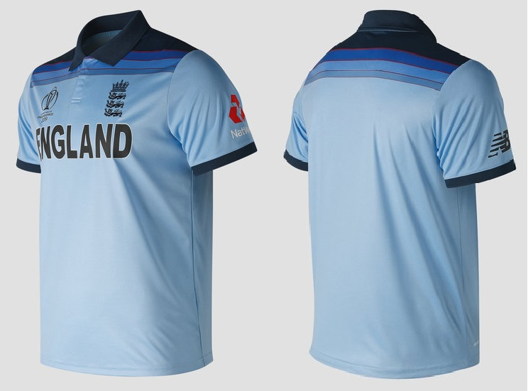 England cricket team jerseys for cwc 2019