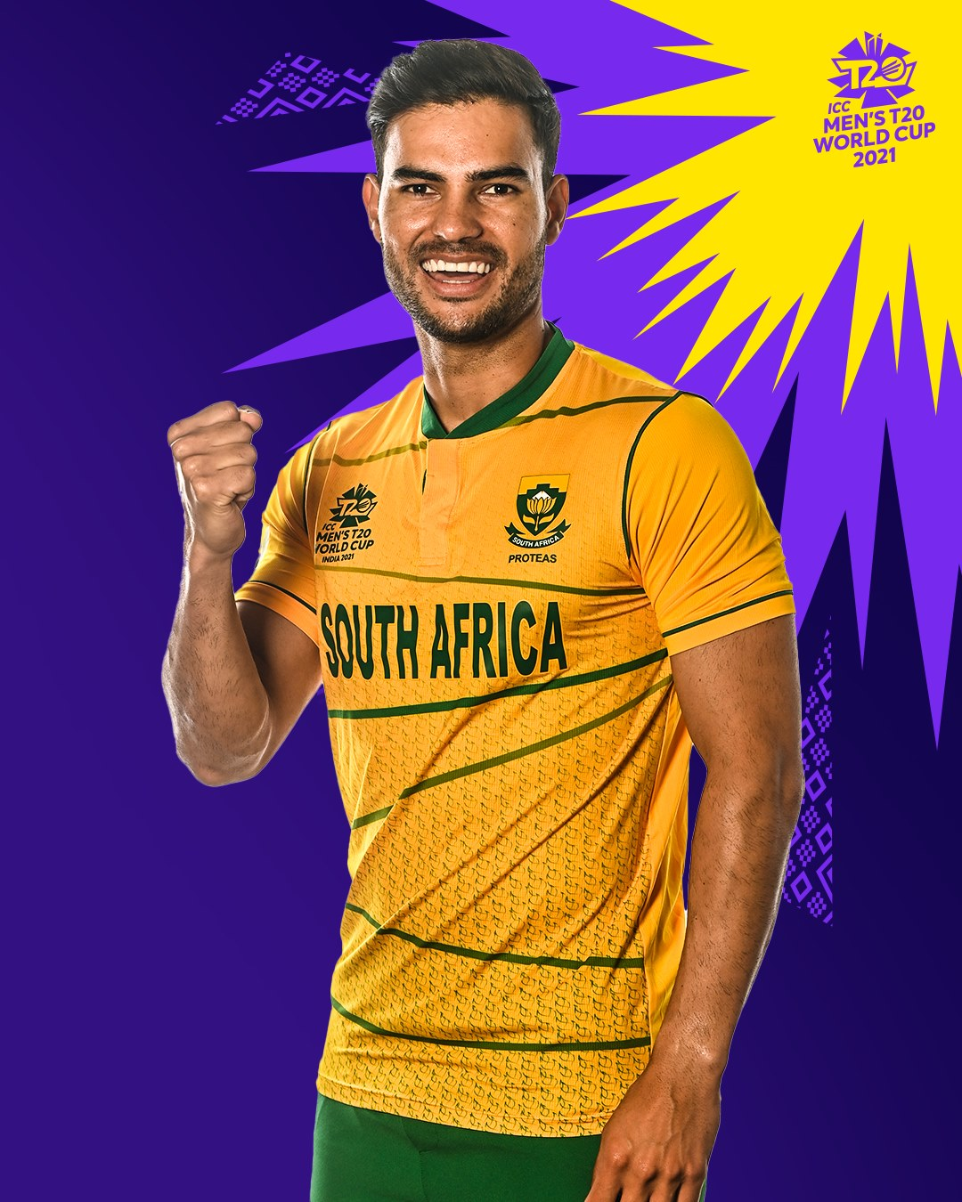 South African Team Kit for T20 World Cup 2021