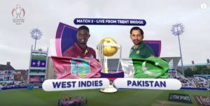 Cricket World Cup 2019 Pakistan vs West Indies Match Highlights & Scorecard