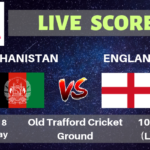 Afghanistan vs England Live Streaming & Live Score | ICC Cricket World Cup 2019