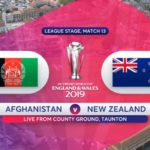 Afghanistan vs New Zealand Highlights & Scorecard | Cricket World Cup 2019