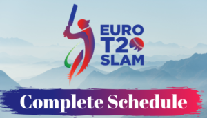 Euro T20 Slam 2019 Schedule Download in PDF Time Table Fixtures Date Timing [CONFIRMED]