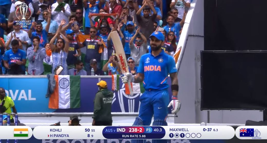 India vs Australia Highlights