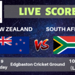 New Zealand vs South Africa Live Streaming & Live Score | ICC Cricket World Cup 2019