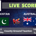 Pakistan vs Australia Live Streaming & Live Score | ICC Cricket World Cup 2019