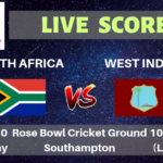 South Africa vs West Indies Live Streaming & Live Score | ICC Cricket World Cup 2019