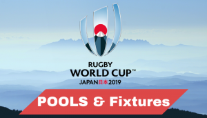Rugby World Cup 2019 Groups Schedule