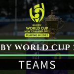 2022 Rugby World Cup Teams | Rugby World Rankings