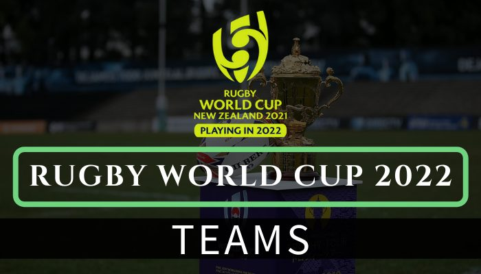 Rugby world cup 2022 Teams