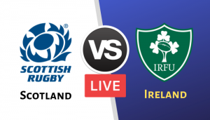 Rugby World Cup 2019 Ireland vs Scotland Live Streaming