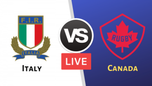 Rugby World Cup 2019 Italy vs Canada Live Streaming