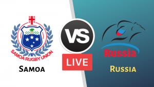 Rugby World Cup 2019 Russia vs Samoa Live Streaming