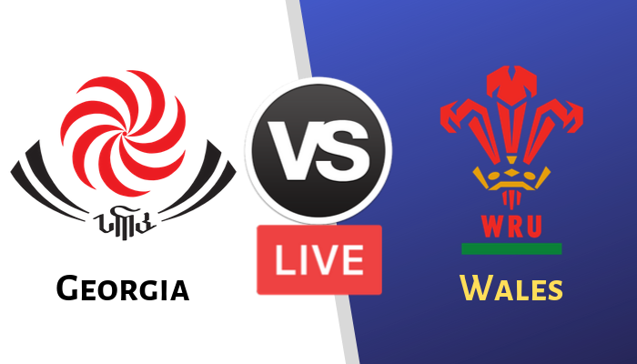 Wales vs Georgia Live Streaming