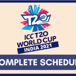 ICC Men's T20 Cricket World Cup 2021 Schedule PDF Download [CONFIRMED]