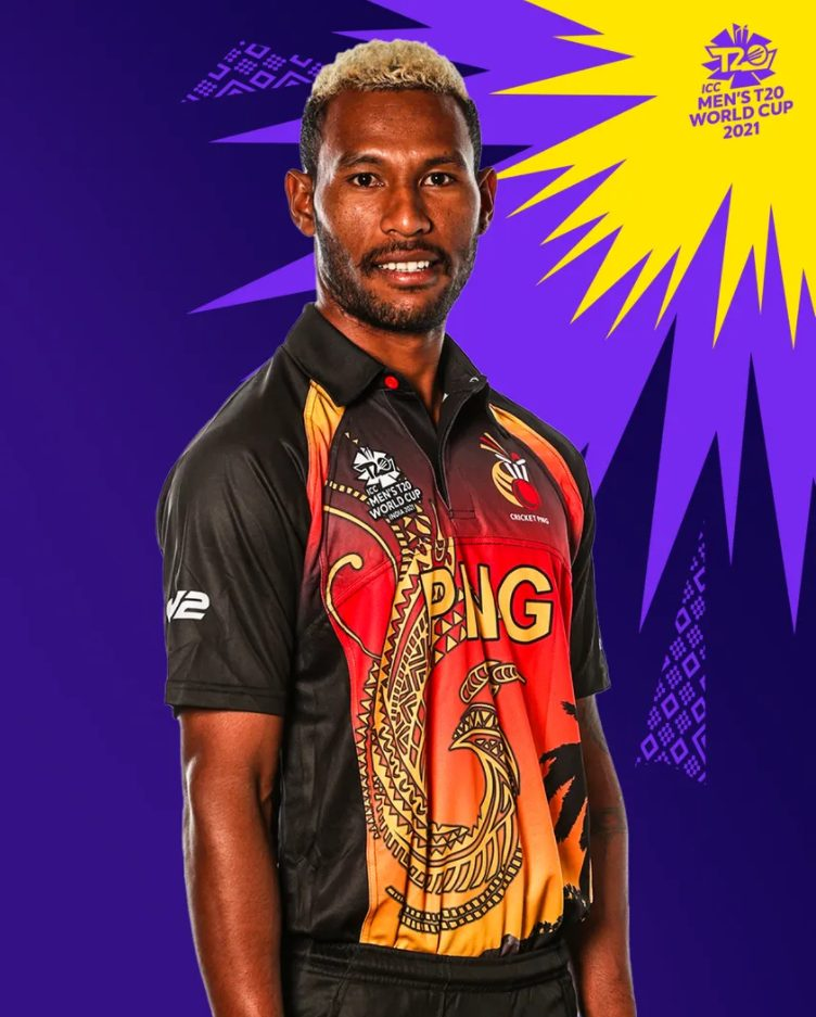 T20 World Cup 2021 Papua New Guinea's Kit & Jersey